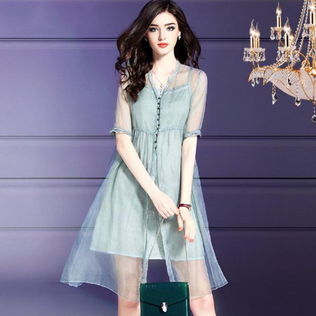 时髦真丝连衣裙推荐,突显端庄高雅的独特气质!