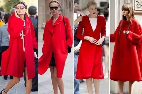 这样穿红衣服漂亮又洋气,一定要有一件!(一)