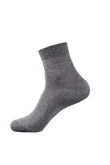 10雙裝卡帝樂鱷魚男襪男士商務長襪純色平板中筒多色袋裝D0004-10(10雙混色 均碼)