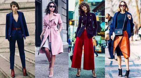 2017你一定要学会的五组气质配色!一整年的时尚就靠它们了!