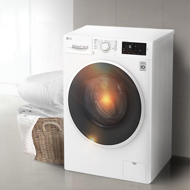 LG WD-VH451D0S 9公斤滚筒洗衣机