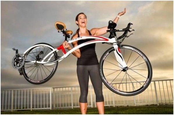 飞鸟式俯卧自行车 换个姿势感受骑行风景